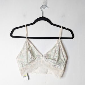 Intimately Free People Phoebe Floral Lace Bralette
